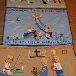 Textil Broderade bonader