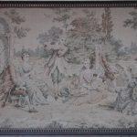 Textil Gobeläng tid 1900-tal