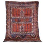 Matta Afghan Hatchlou-mönster 210x150 1975