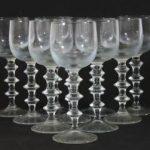 10 glas S Gate orrefors 1870